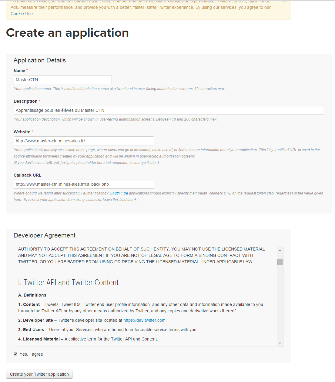 create-application-twitter