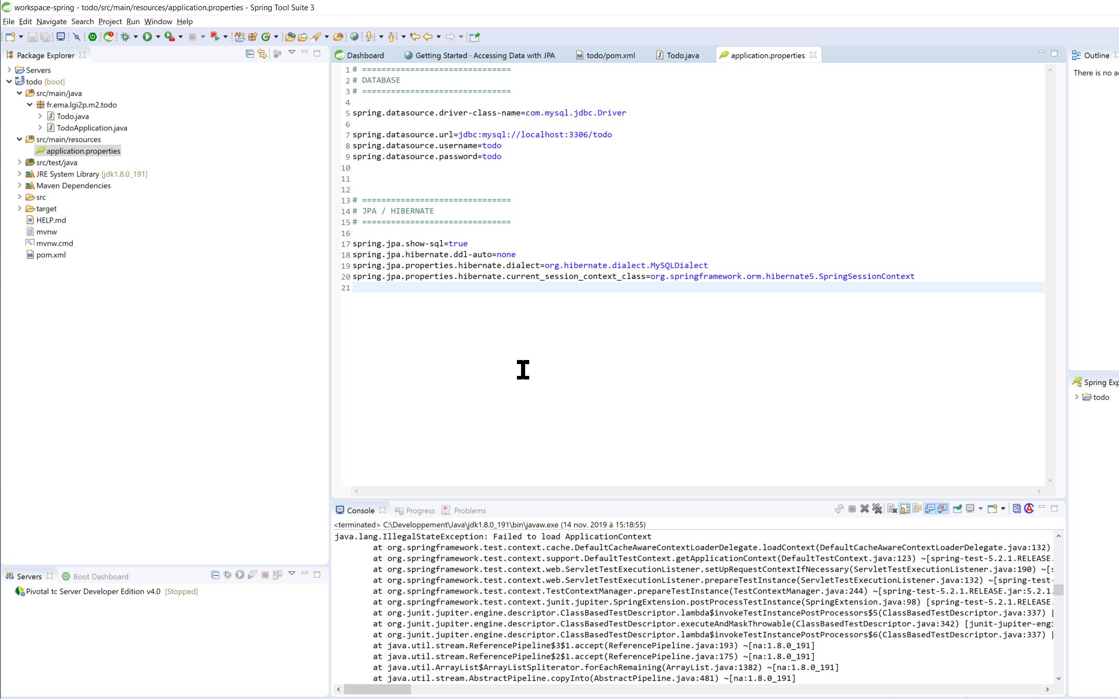 fichier Application Version 0.1
